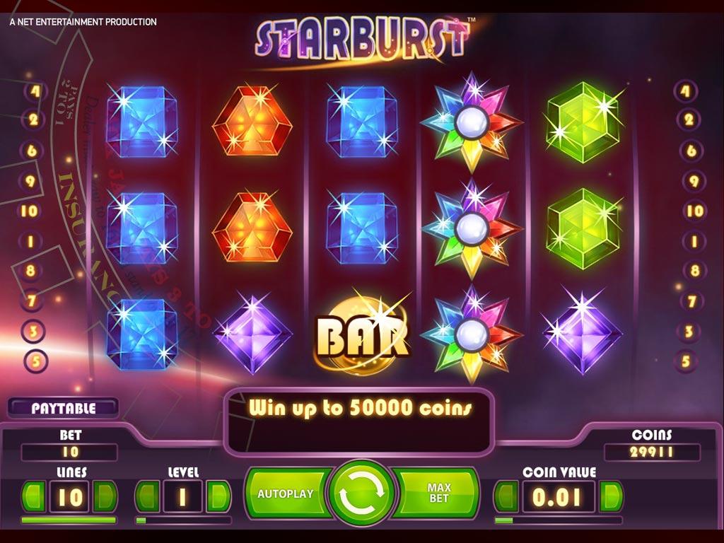 Starburst Spielautomat