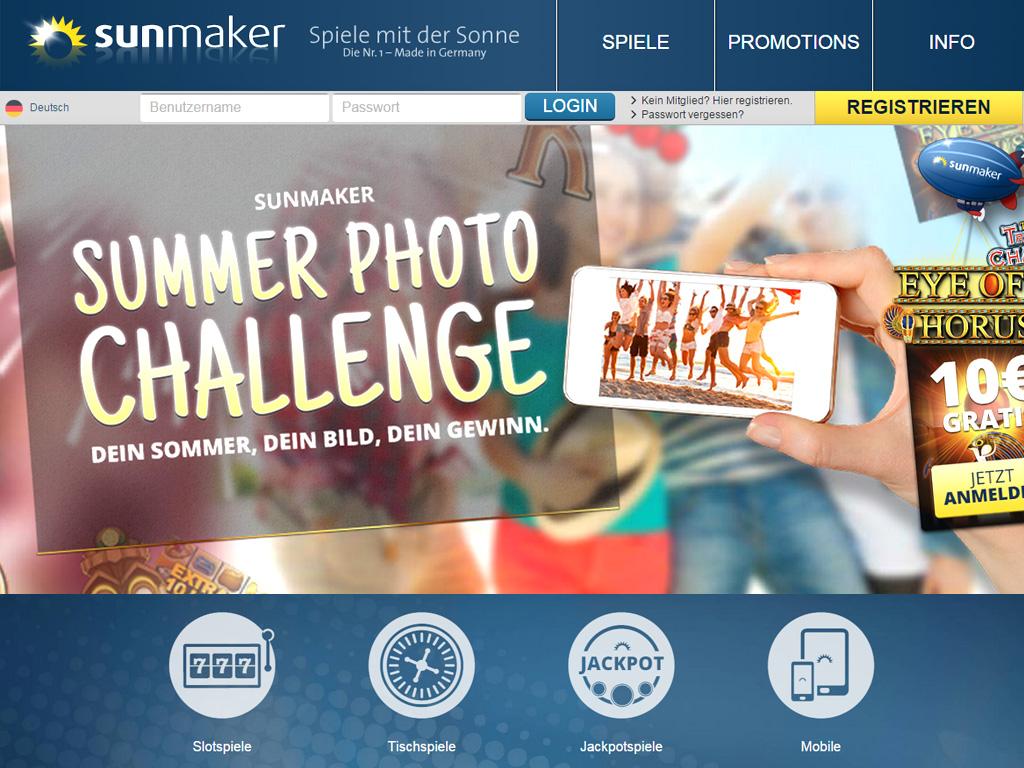 sunmaker online casino gratis online spiele ohne anmeldung